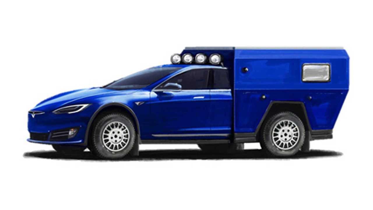 Tesla Model S Roamer Motorhome Is The EV Camper Of The Future