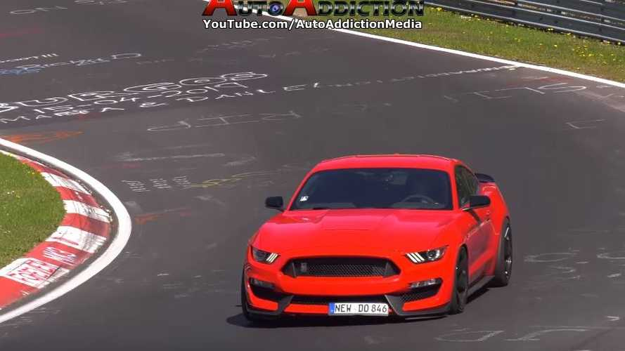 Crash Ford Mustang Shelby GT350