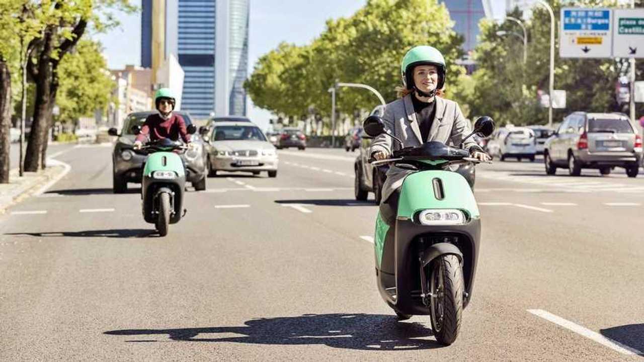 Las motos eléctricas compartidas de Coup en Madrid