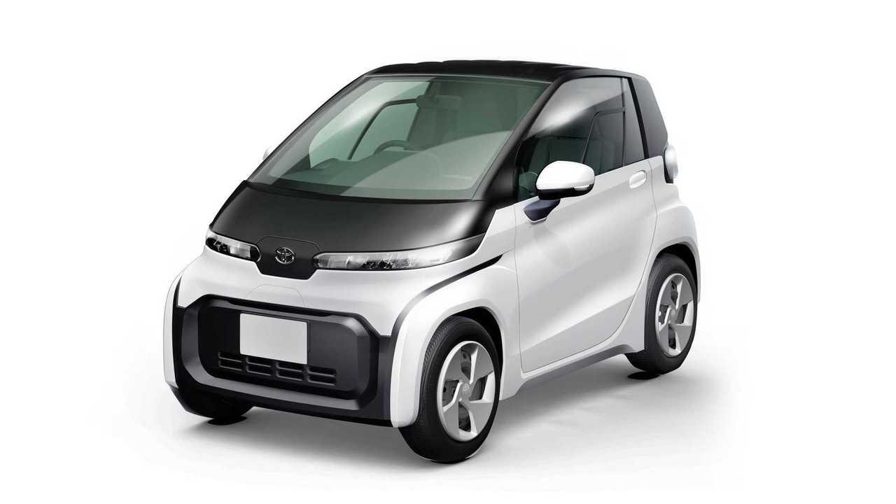 Toyota stellt ultra-kompakte Elektromobile vor (2019)