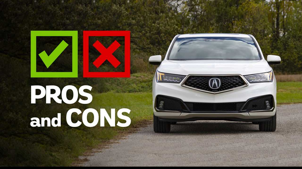 2019 Acura MDX A-Spec: Pros and Cons