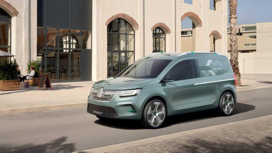Renault, elektrikli Kangoo modelinin yeni konseptini gösterdi