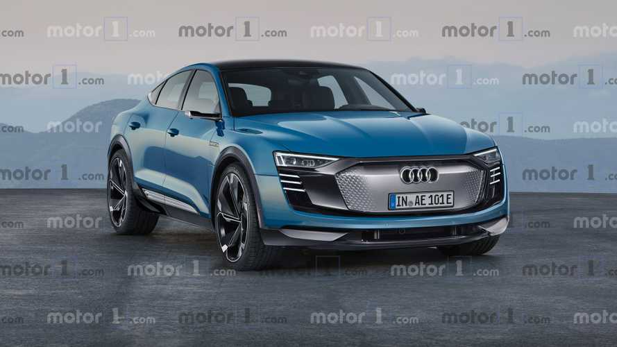 Audi E-Tron Sportback Rendered Into Stylish Electric Crossover
