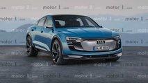 Rendering: Audi e-tron Sportback (2020)