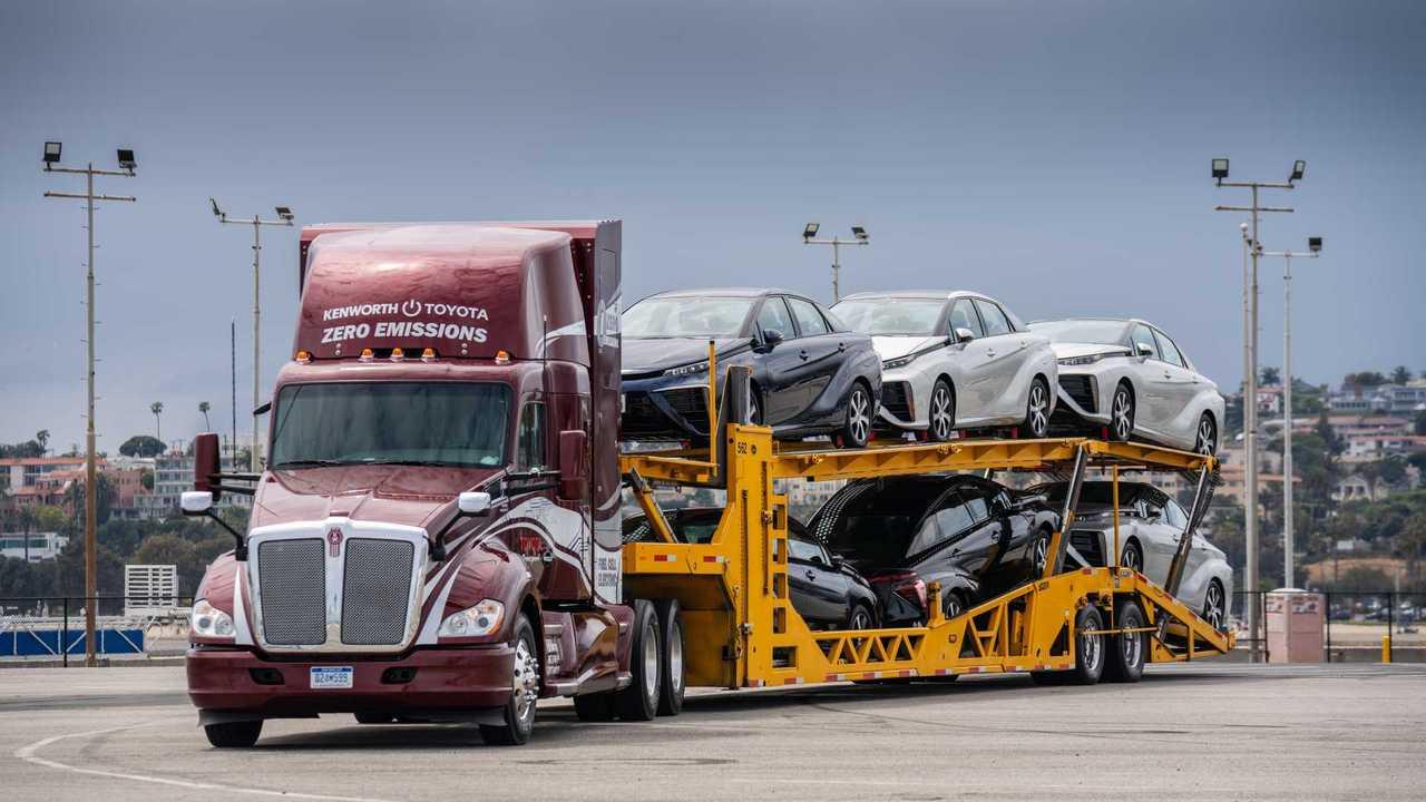 Toyota/Kenworth: Brennstoffzellen-LKW (2019)