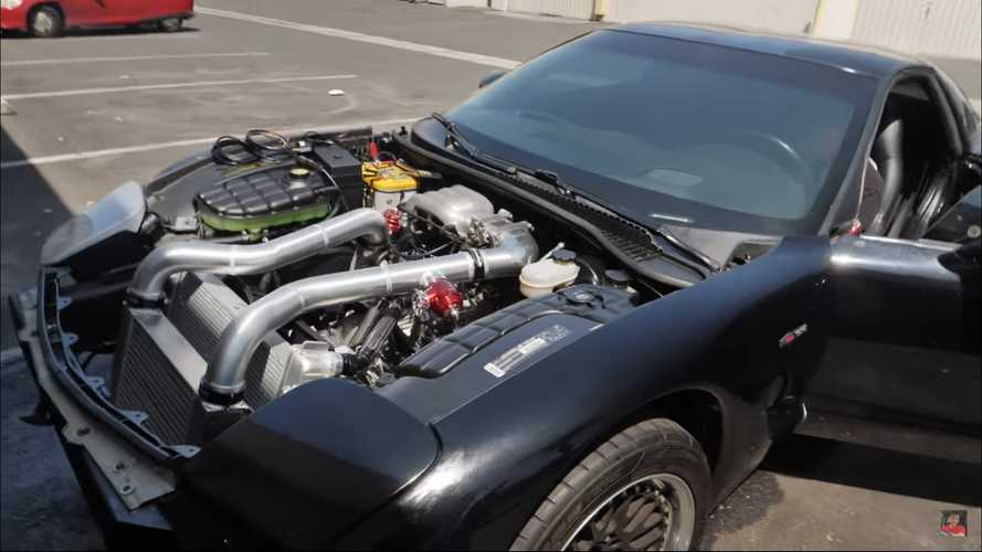 Rotary-Engined Corvette Sounds Positively Glorious