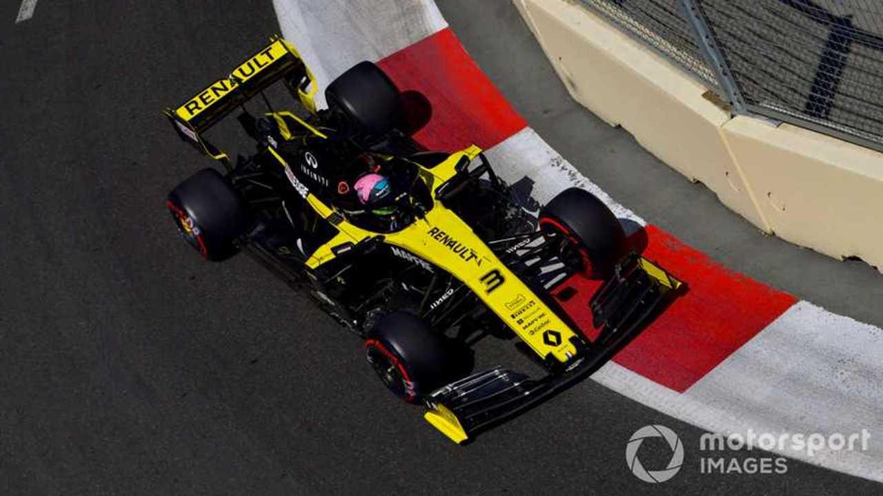 Daniel Ricciardo at Azerbaijan GP 2019