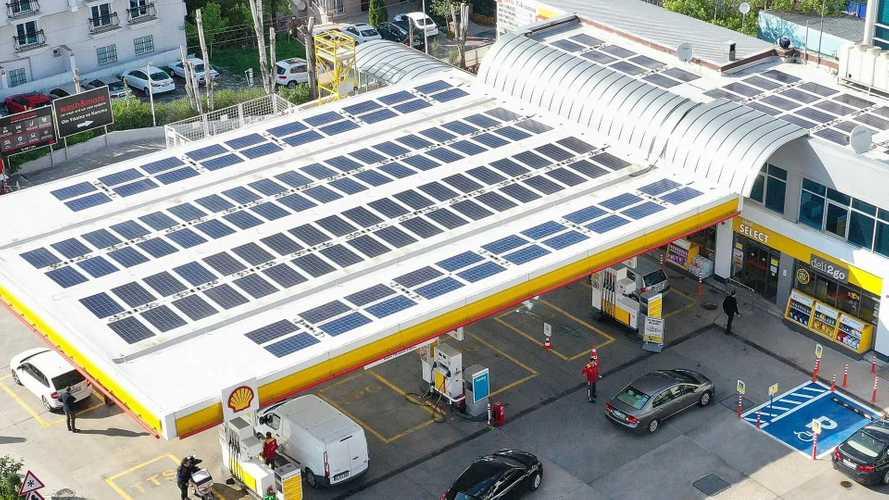 Shell'den çevreci yakıt istasyonu