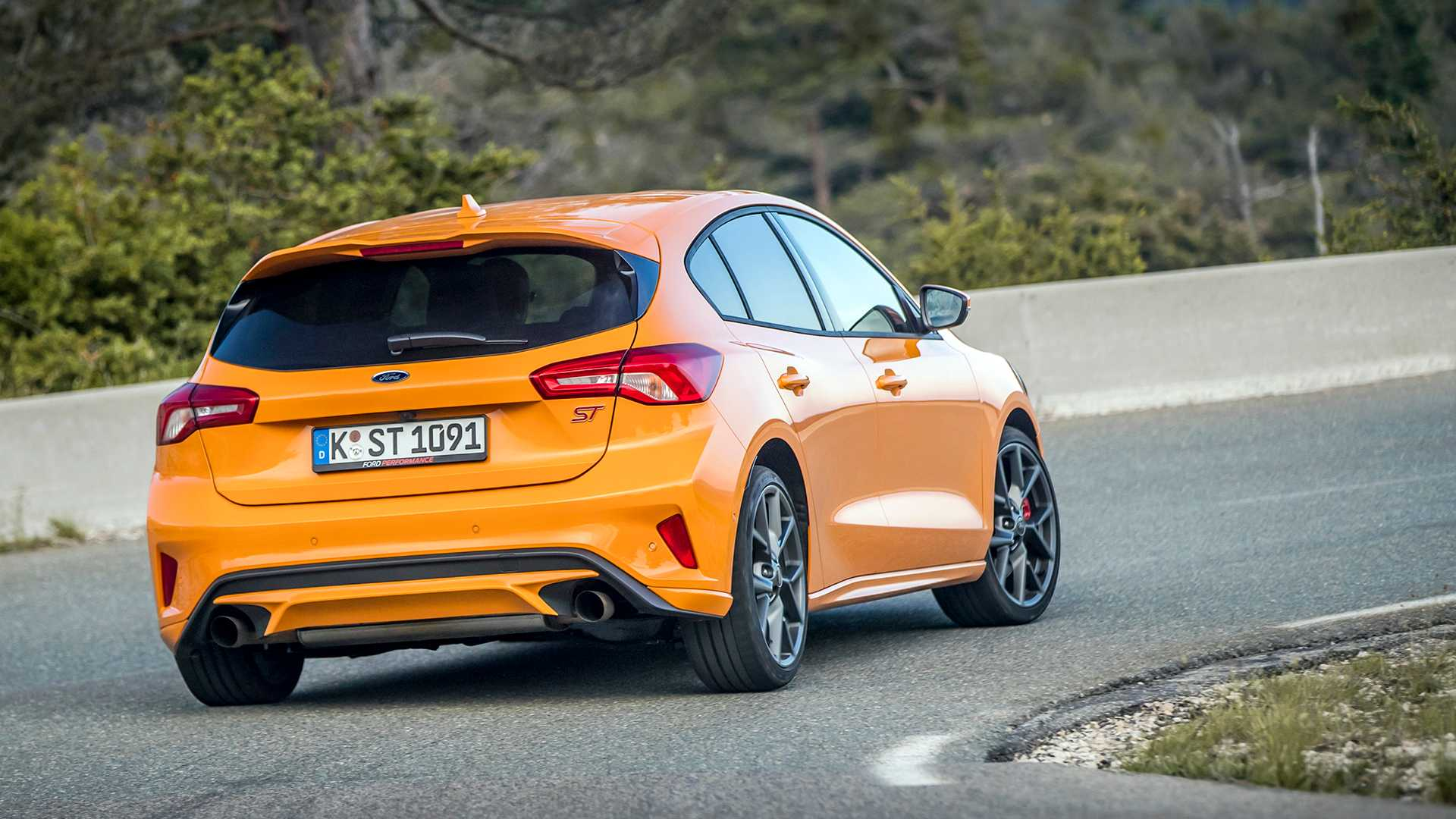2019 Ford Focus St First Drive Another Energetic St