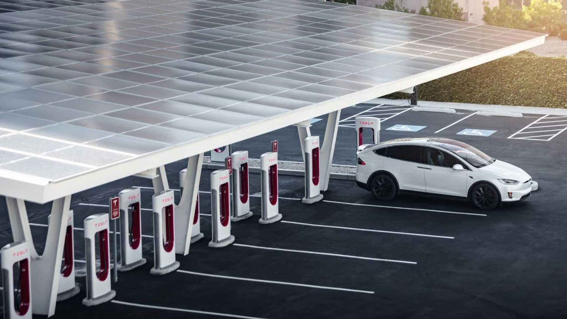 Tesla Is Supercharging Itself Far Ahead Of All Others