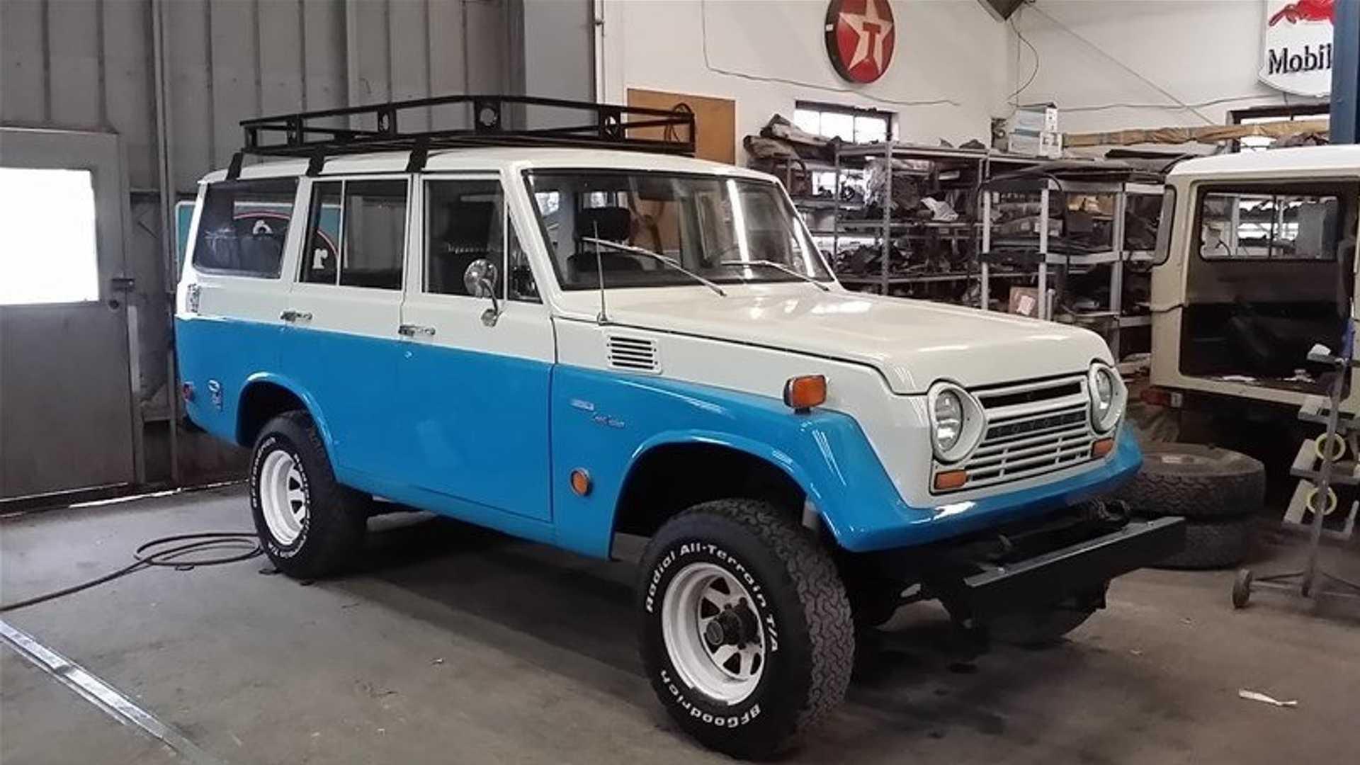 "[""Ford-Powered FJ55: 1969 Toyota Land Cruiser""]"