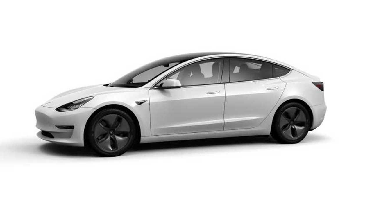Tesla Model 3 blanche