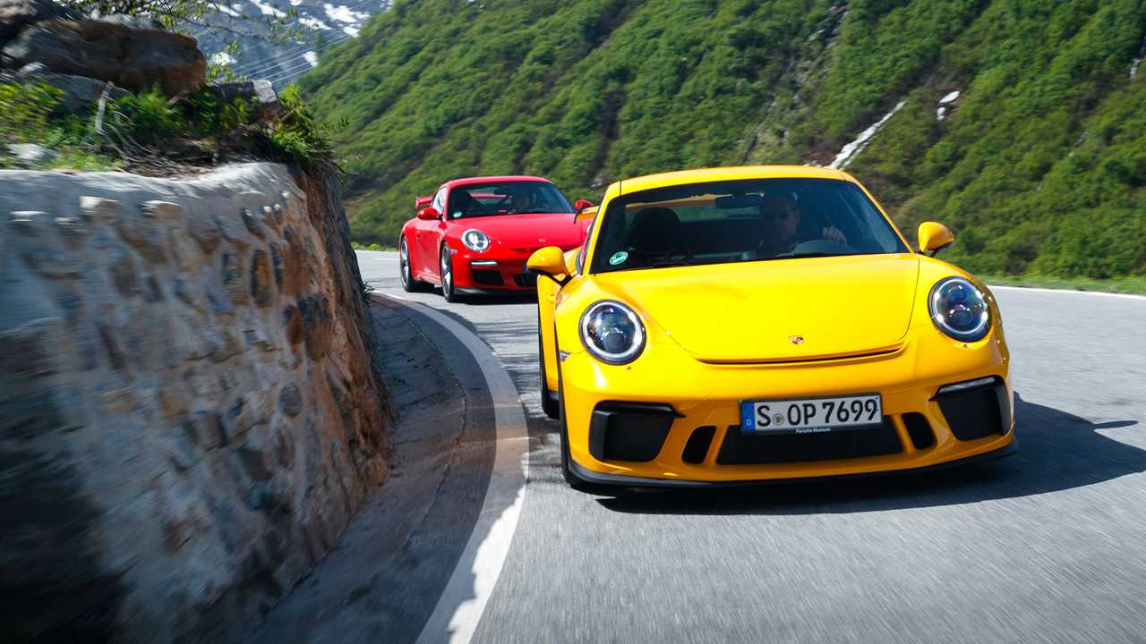 Porsche 997.2 GT3 und 991.2 GT3