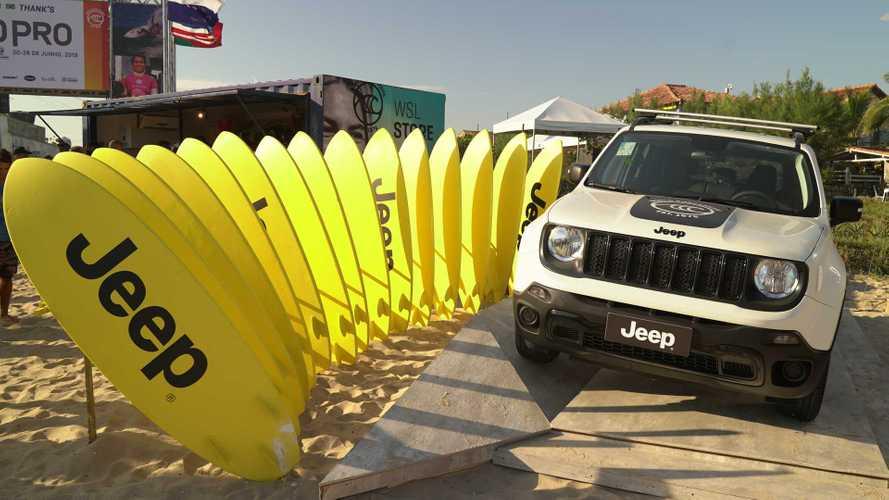 Jeep Renegade WSL é série especial em homenagem ao mundial de surfe