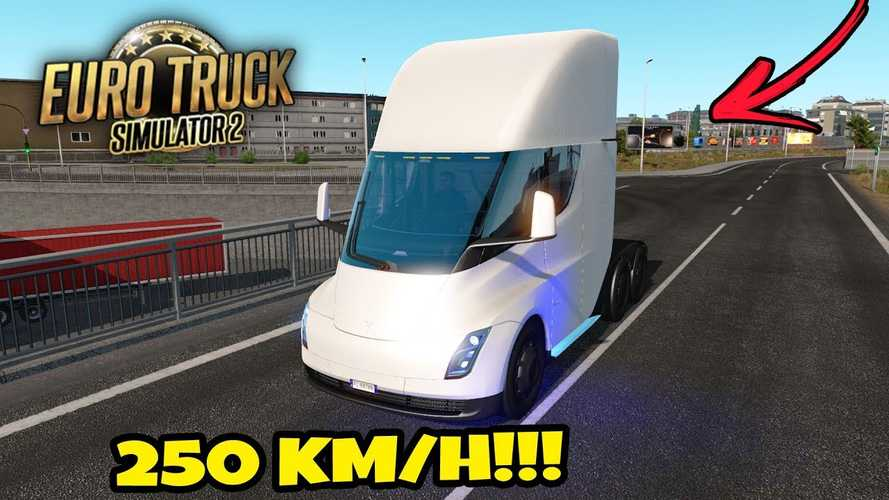 This Tesla Semi Simulator Is Insanely Amazing: Video