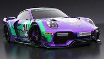 Porsche 911 GT1 Concept Rendering