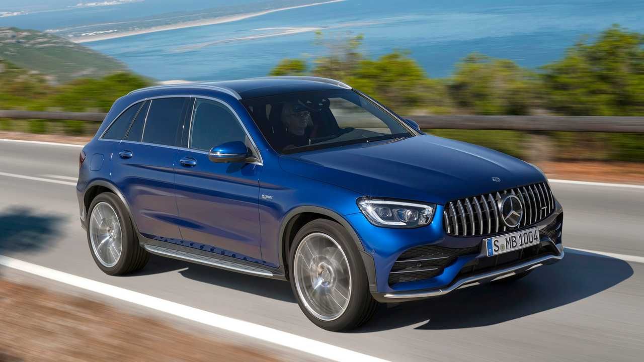 2020 Mercedes-AMG GLC 43 Debuts With Updated Styling, 385 HP