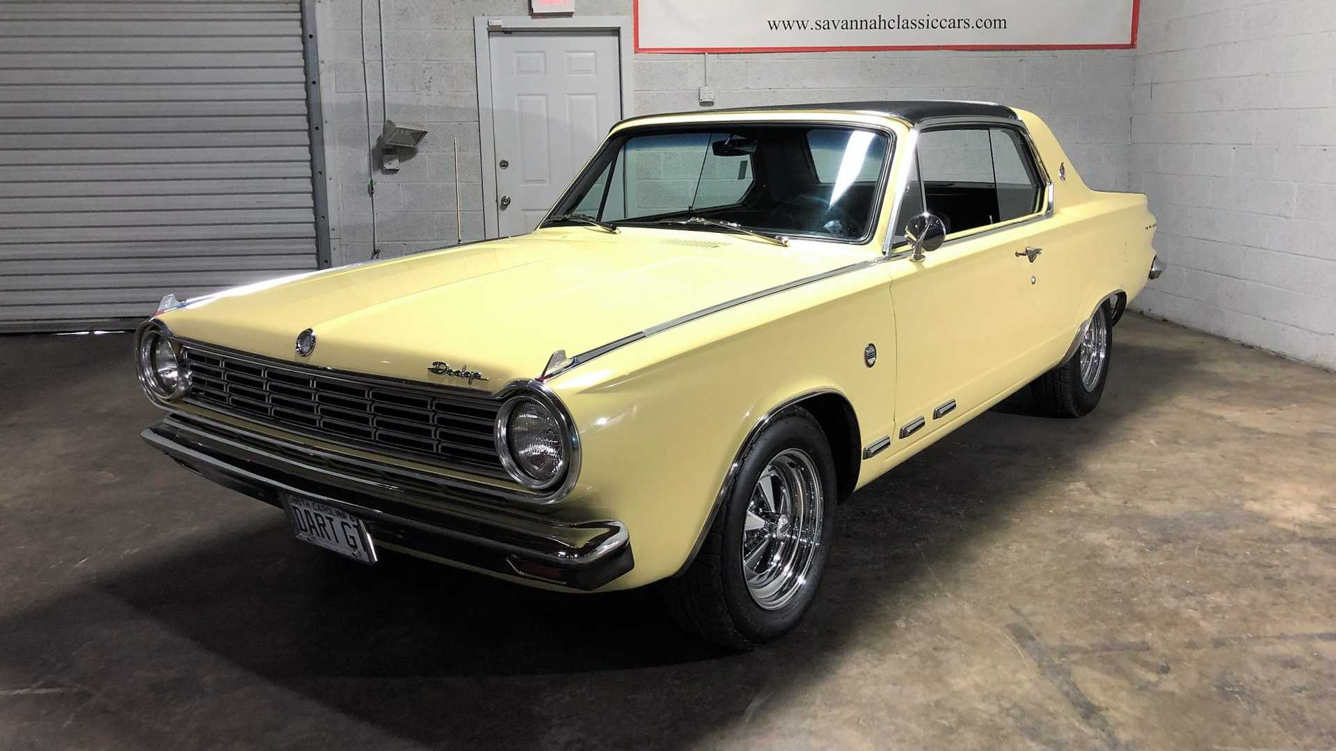 All Charged Up 1965 Dodge Dart Charger 273 Motorious