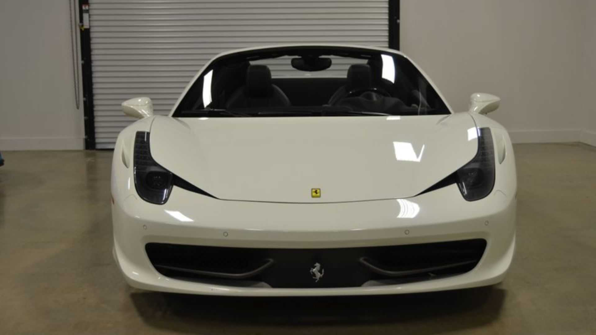 "[""Catch This 2013 Ferrari 458 Spider If You Can""]"