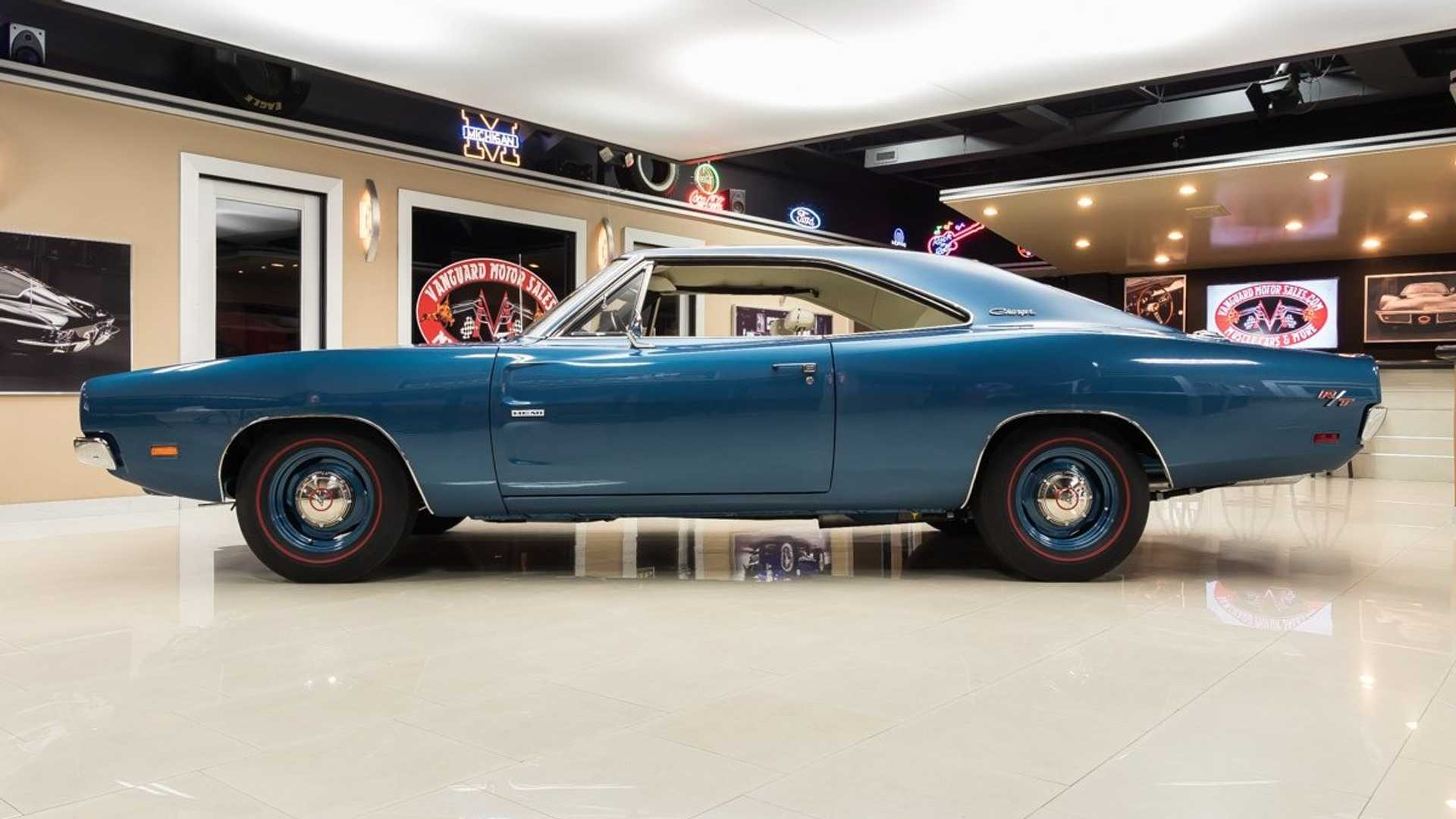 """[""""Professionally Built And Restored 1969 Dodge Charger R/T Hemi""""]"""