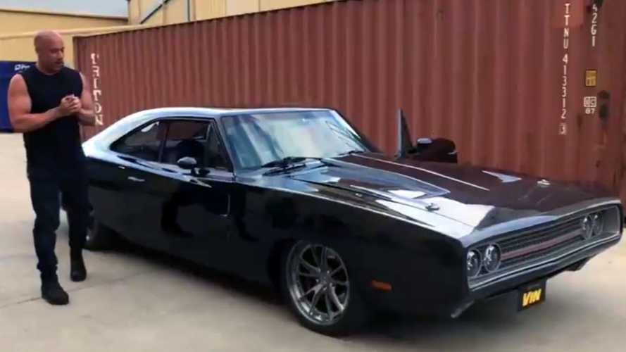 Check Out The Mopar Restmod Vin Diesel Got For His 52nd Birthday
