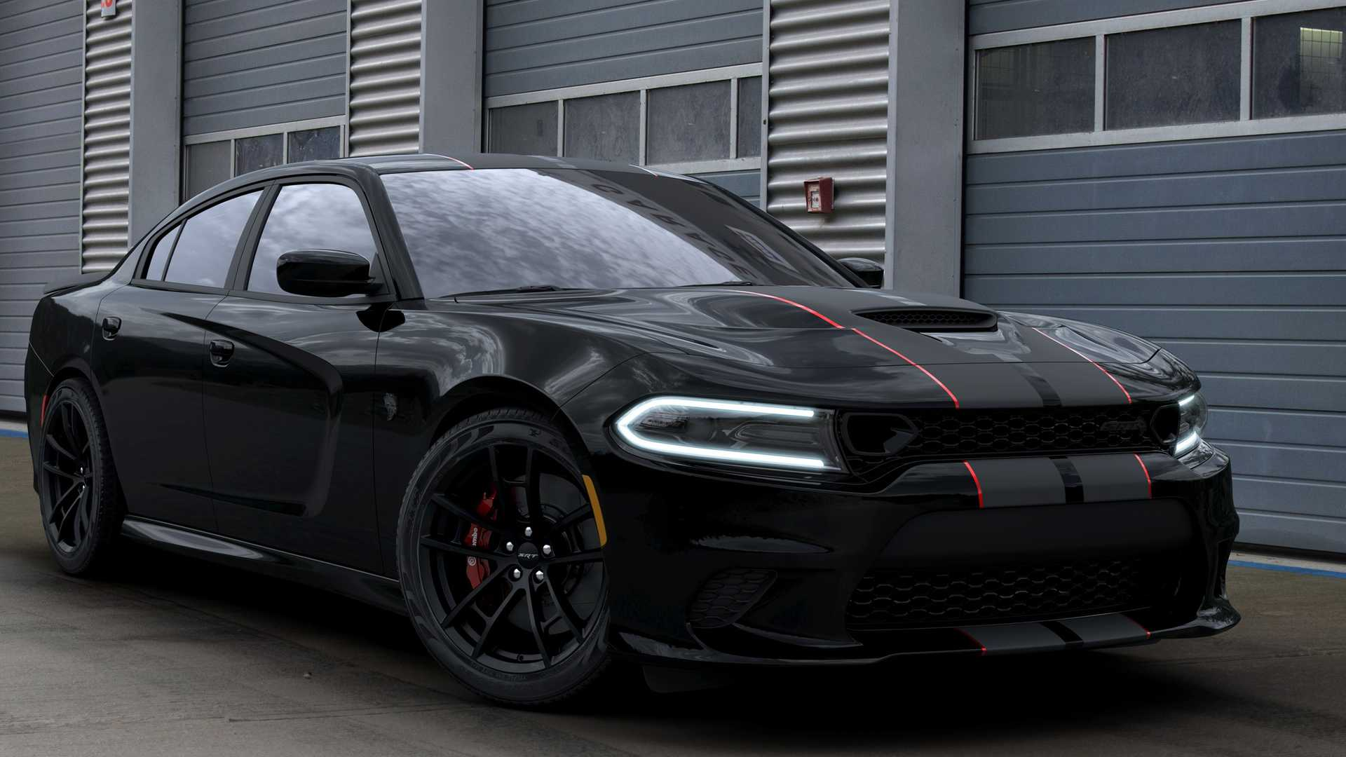 Dodge Charger Srt Hellcat Octane Edition Gets Stealthy Look