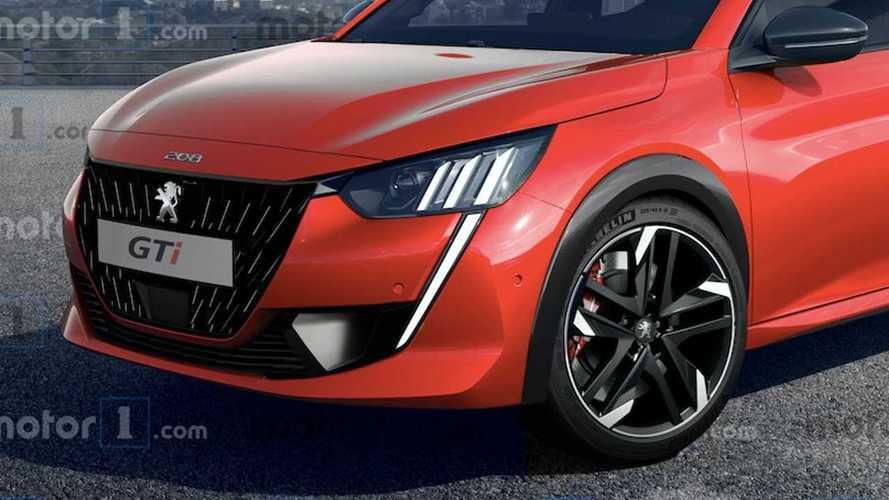 Peugeot 208 GTi 2020 (projeção)