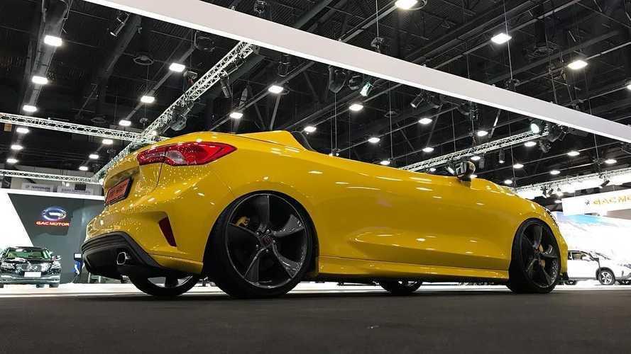 Une Ford Focus transformée en Speedster !