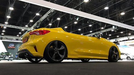 Un Ford Focus transformado en un speedster, ¡locura total!
