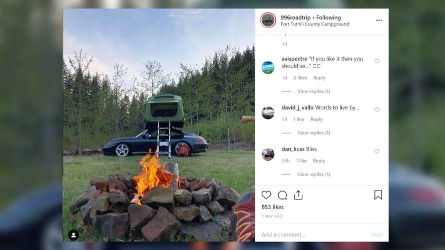 Porsche 911 Topped With Tent Is Not Your Typical Overland Vehicle