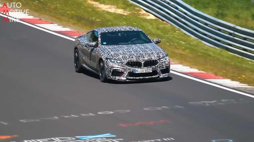 El BMW M8, cazado en Nürburgring... en todas sus variantes (vídeo)