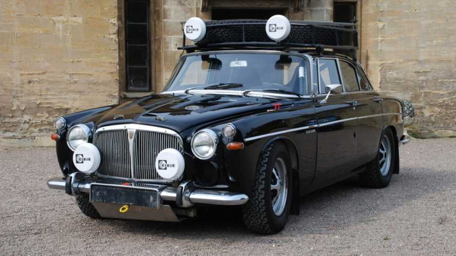 Granpa's Rover P5 Has Been Transformed Into A V8 Rally Monster!