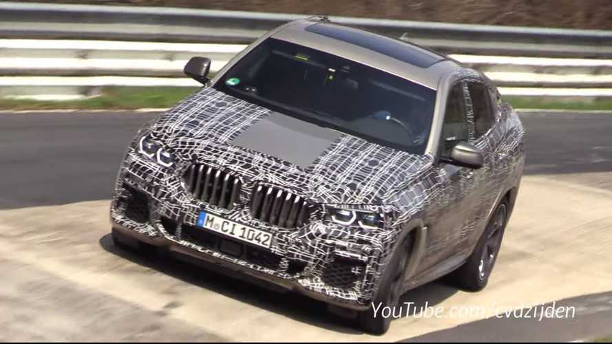 BMW X6 M50i spied showing off its style and performance