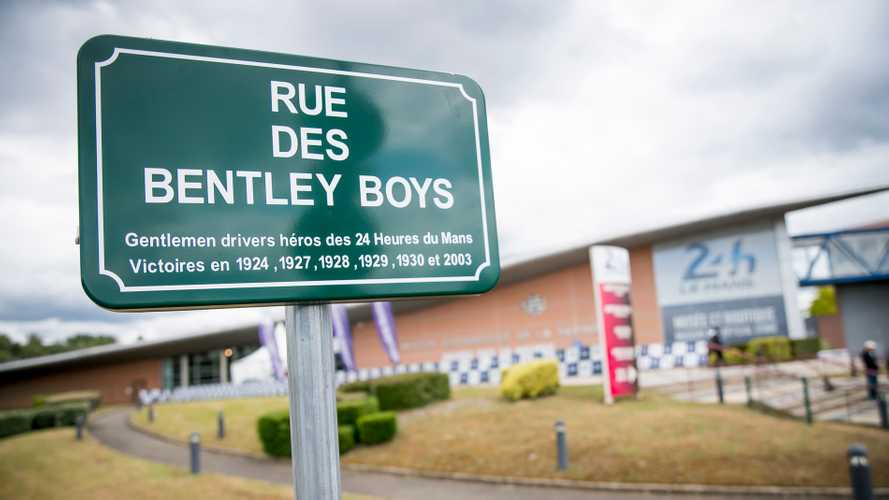 Le Mans renames street to celebrate Bentley's centenary