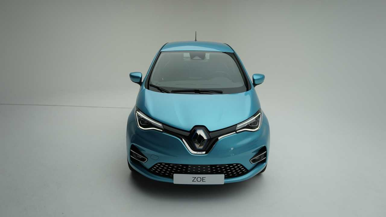 Renault Zoé II Stüdyo Fotoğrafları
