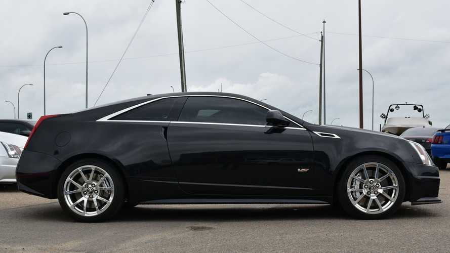 Supercharged Caddy: 2012 Cadillac CTS-V Coupe