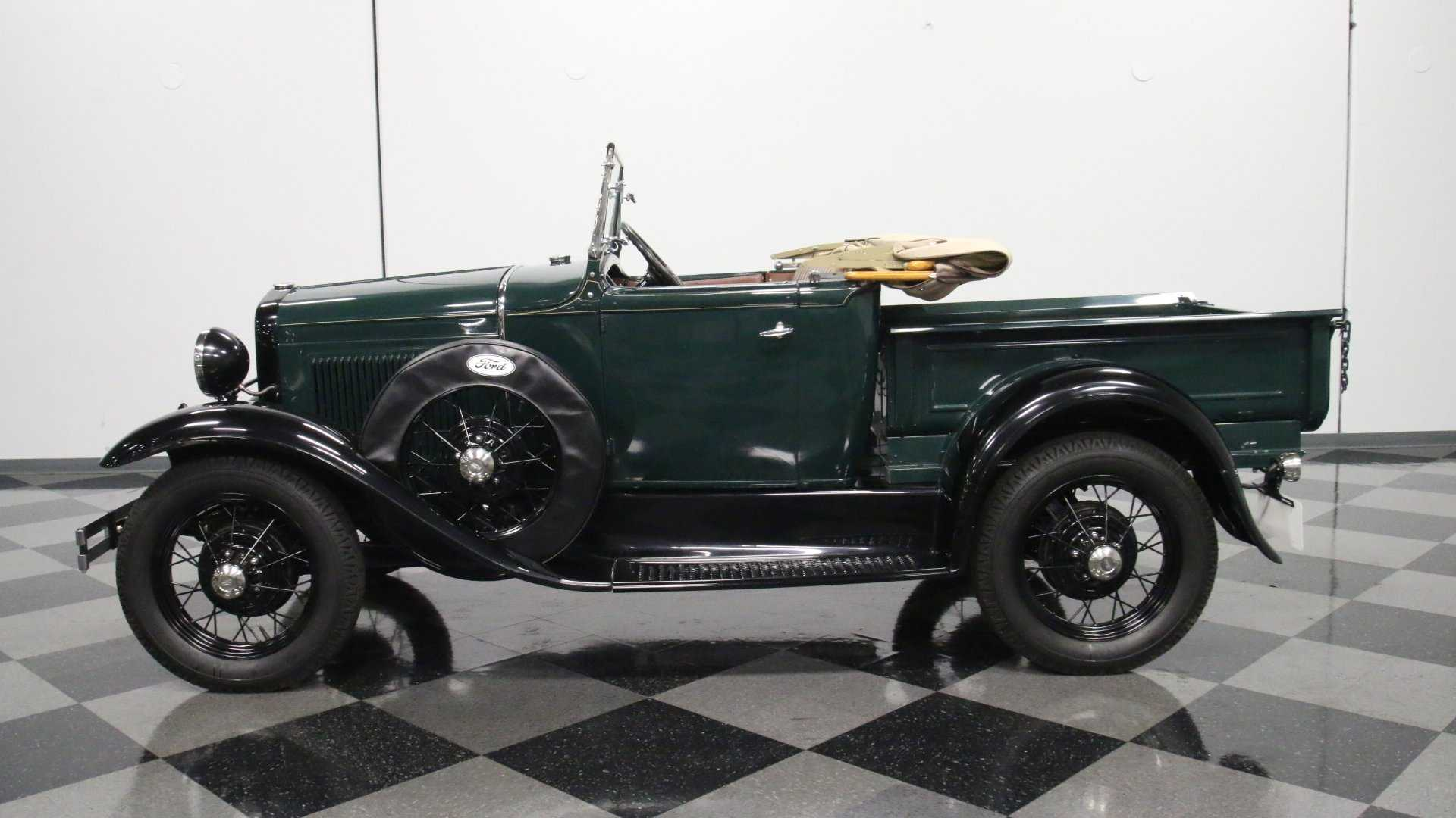 Super Rare Clean Find 1931 Ford Model A Roadster Pickup Motorious