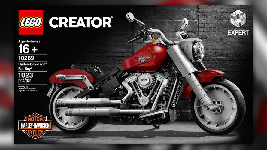 LEGO And Harley Team Up To Release Awesome Model Fat Boy
