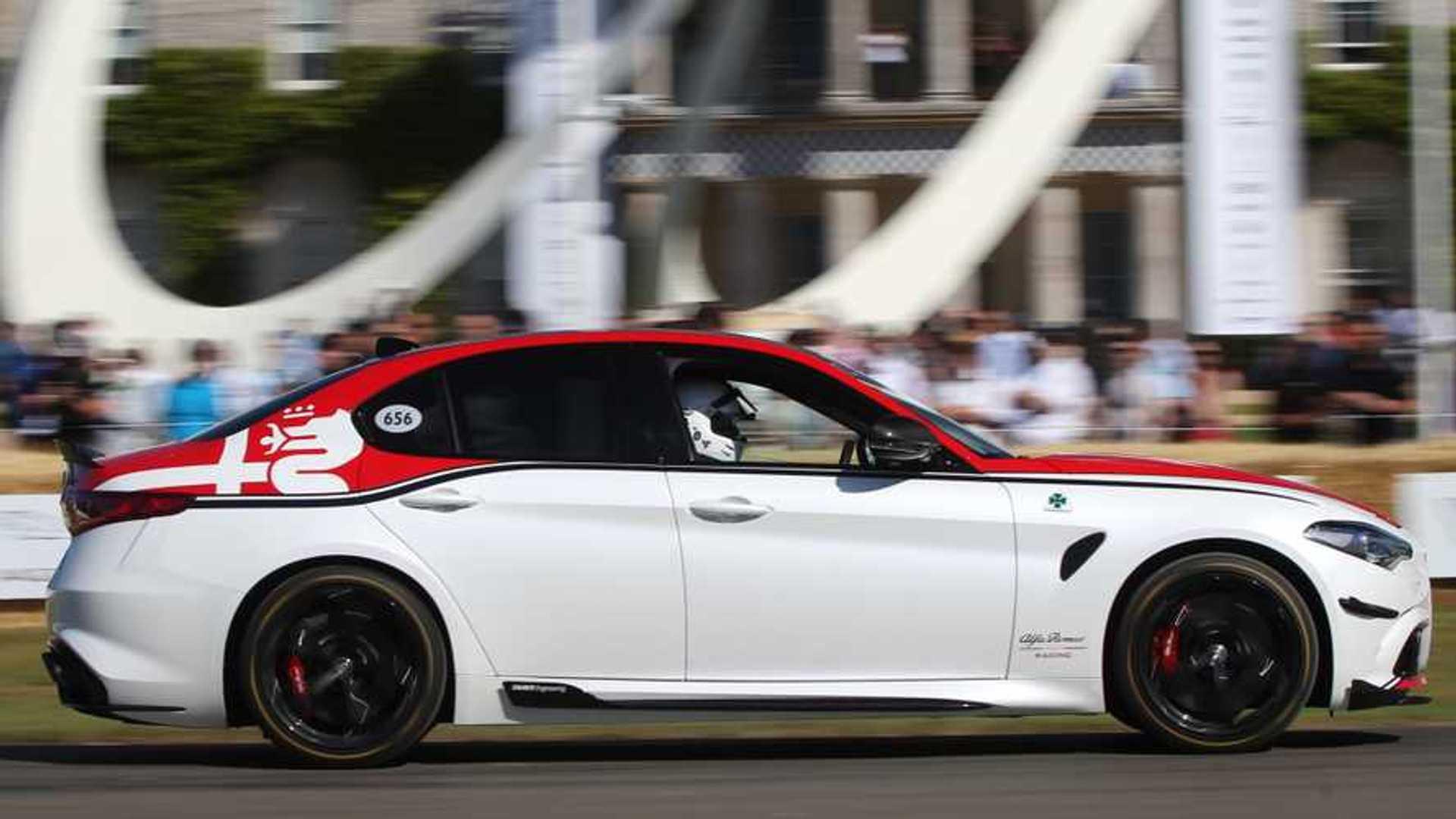 F1 Inspired Alfa Romeo Racing Models Arrive At Goodwood