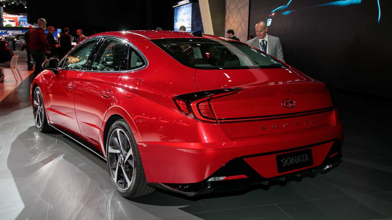 New York Auto Show 2020.2020 Hyundai Sonata U S At The New York Auto Show