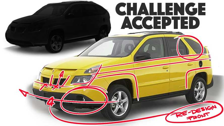Watch Car Designer Try To Fix The Pontiac Aztek... And Fail