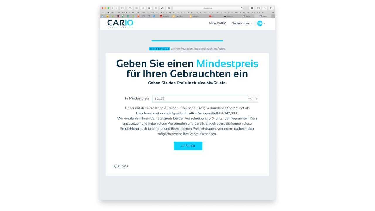 Schritt für Schritt: So funktioniert CARIO