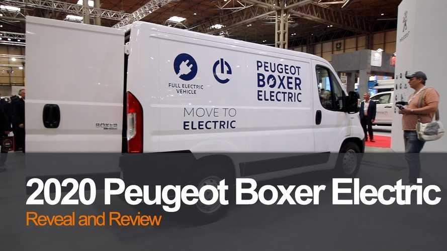 Peugeot Boxer Electric Shows Off At Commercial Vehicle Show: Video