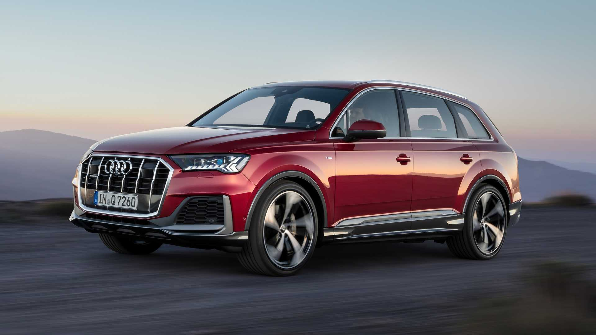 2021 Audi Q7 Spy Shots, Release Date, Specs, Price >> 2020 Audi Q7 Facelift Reveals Small Changes Outside More Within