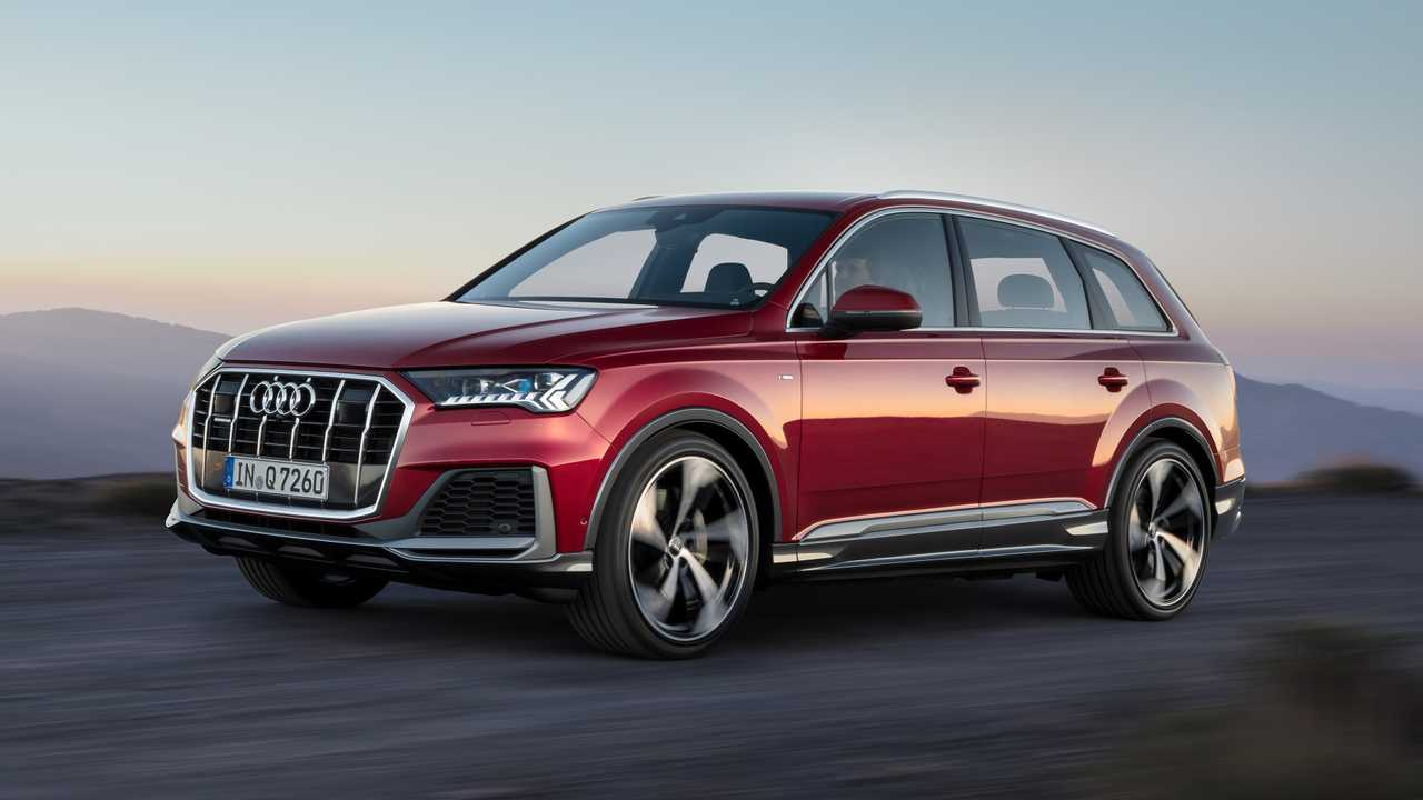2020 Audi Q7 Facelift Reveals Small Changes Outside, More
