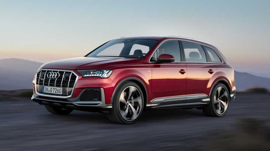 2020 Audi Q7 Facelift Reveals Small Changes Outside, More Within