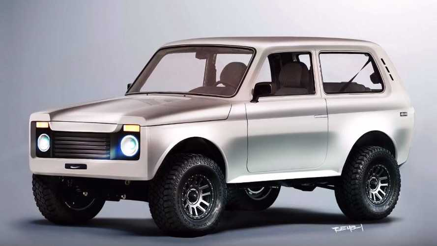 Illustration Lada Niva