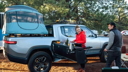 Rivian R1T Pickup Is First All-Electric Truck At Overland Event