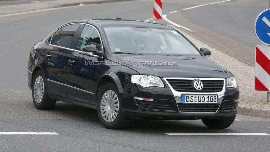 Next Gen 2012 VW Passat First Mule Spy Photos