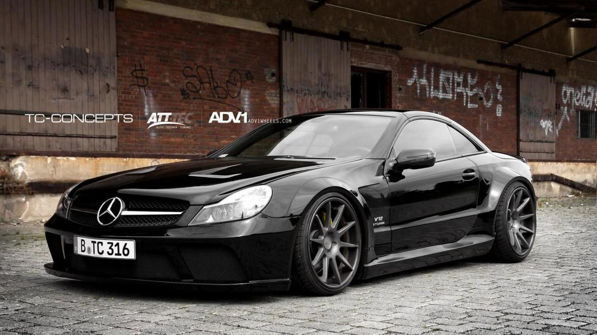 Mercedes Sl65 Amg Gets Black Series Conversion By Tc Concepts Images, Photos, Reviews